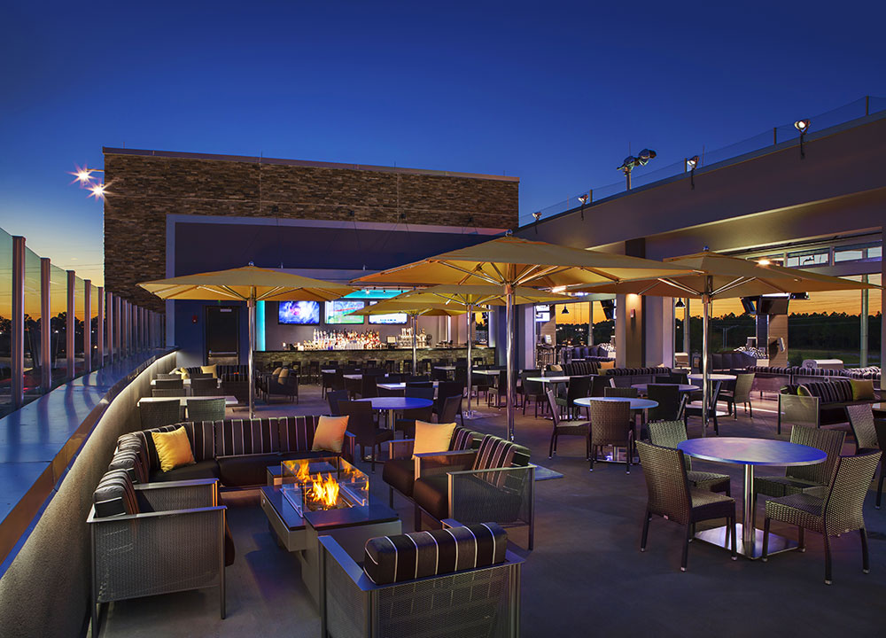 Parties and events made easy topgolf for Terrace restaurant charlotte
