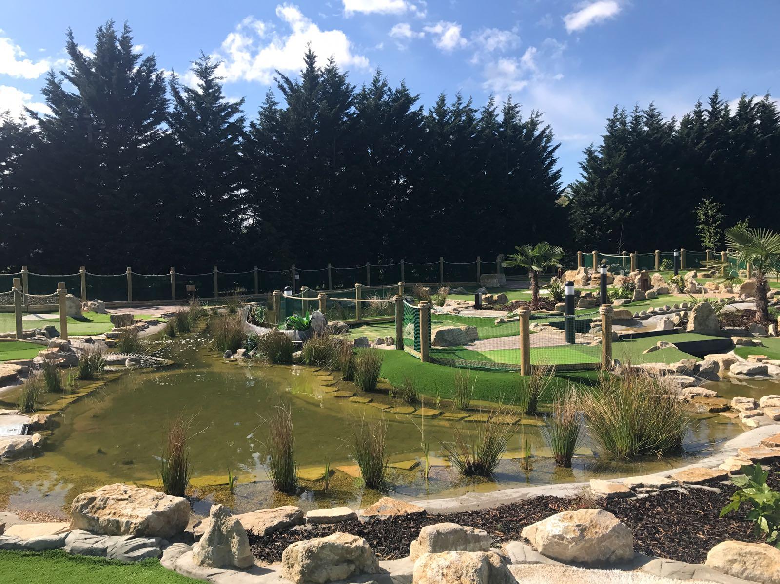 Adventure Golf Surrey Crazy Golf Course At Topgolf Surrey