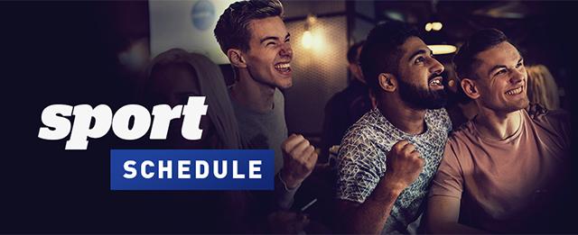 Sport Schedule Header
