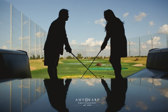 Love and Marriage at TopGolf
