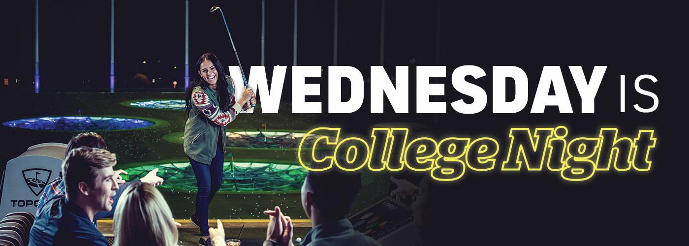 Wednesday is College Night