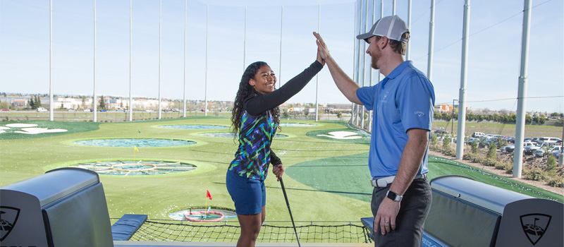 Topgolf International Day of the Deaf