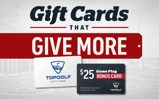 Topgolf Gift Cards for Black Friday Weekend