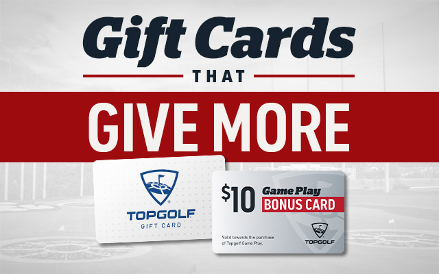 Topgolf Gift Cards for the Holidays