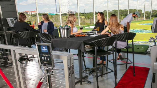 VIP Packages at Topgolf