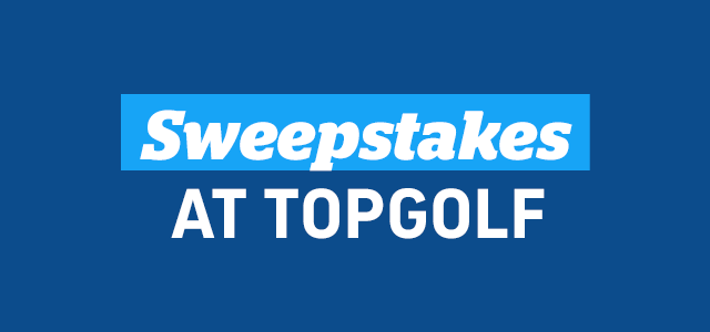 Sweepstakes at Topgolf
