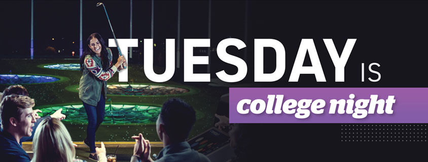 Tuesday is College Night