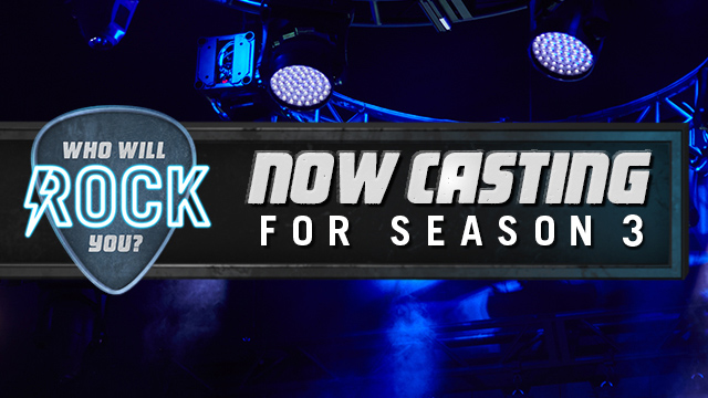 Now Casting for Season Three of Who Will Rock You | Topgolf