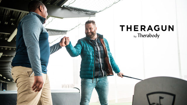 Theragun by Therabody Promotion at Topgolf