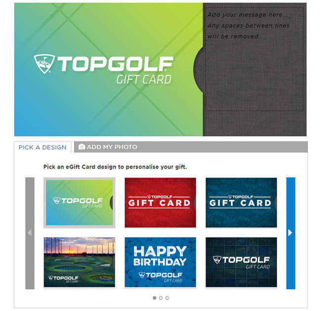 If Youre Interested In Purchasing A Physical Gift Card Please Visit The Guest Services Desk At Any Of Our Topgolf Locations