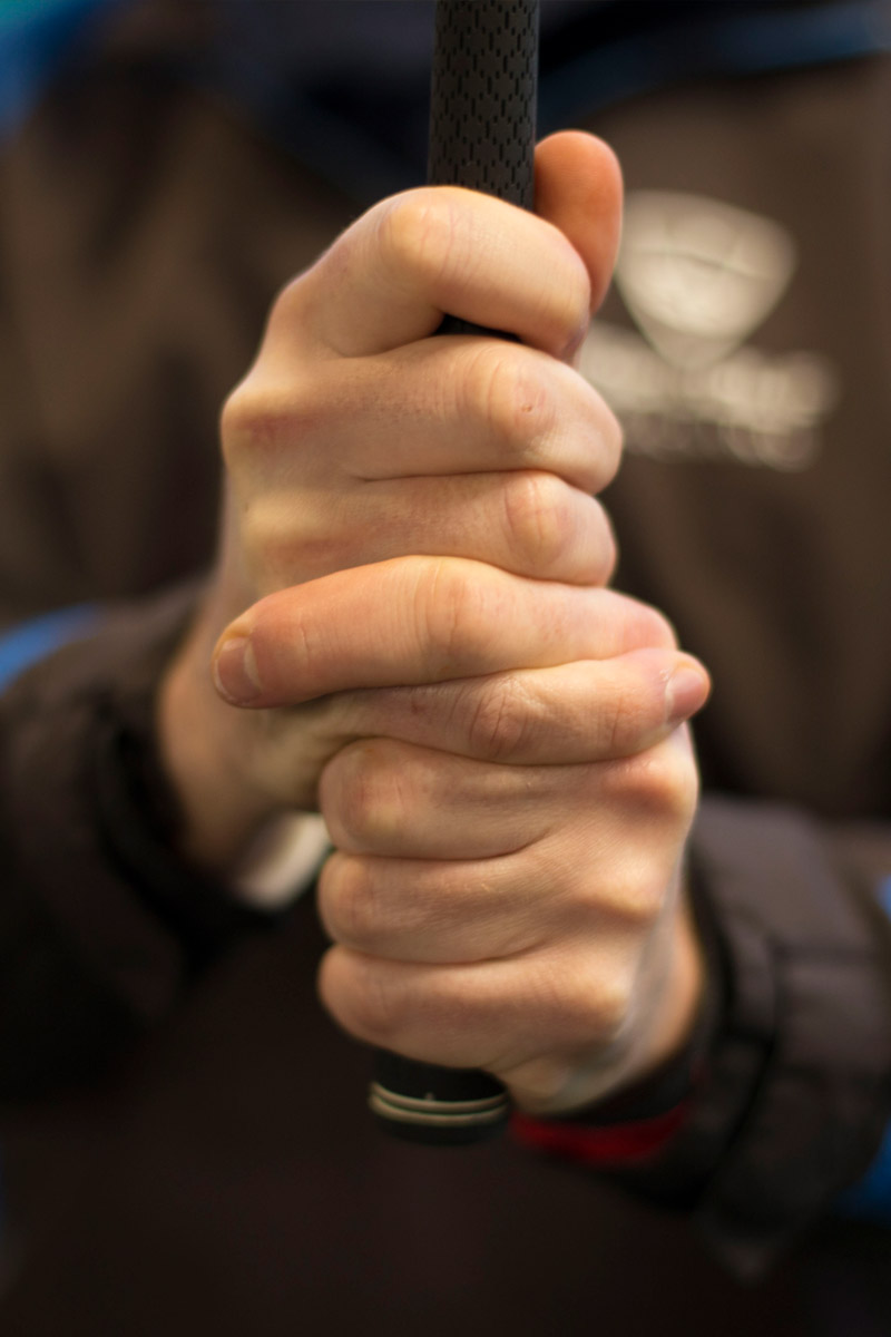 An interlocking grip