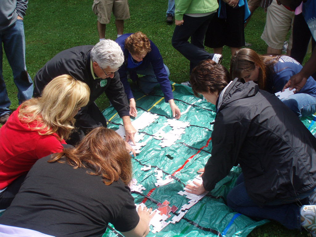 What are team building activities?