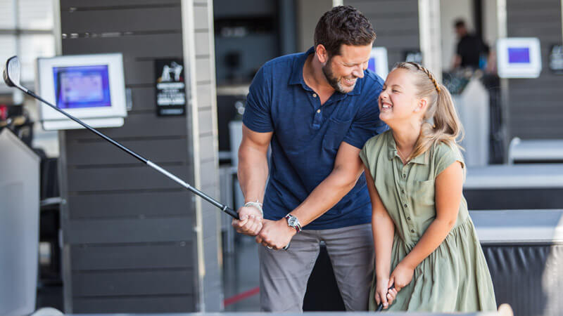 MAKE DAD'S DAY AT TOPGOLF