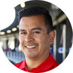 Topgolf Instructor Mark Gonzalez
