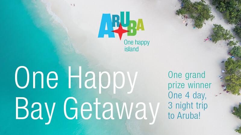 ARUBA'S 'ONE HAPPY BAY' GETAWAY