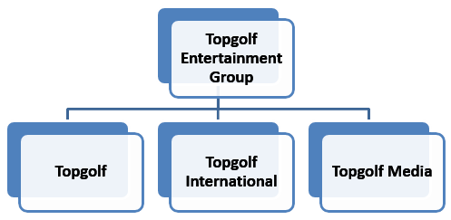 Topgolf Org Structure