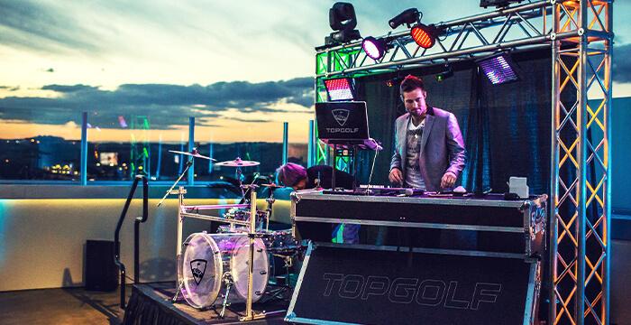Hit Music Matchup at Topgolf