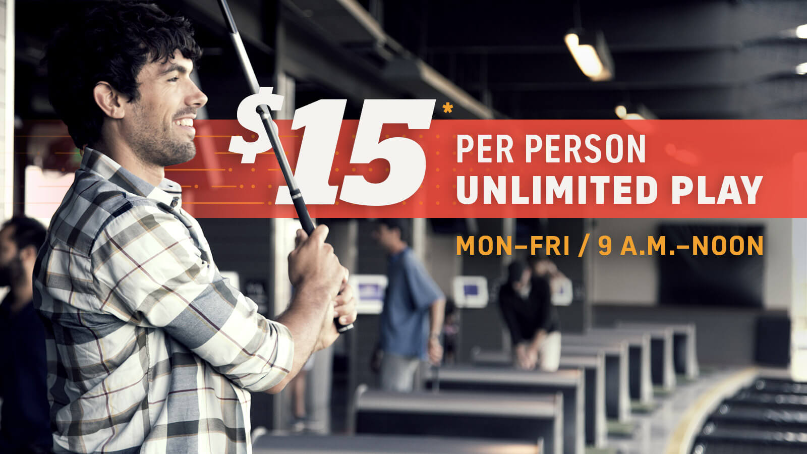 $15 Unlimited Play at Topgolf
