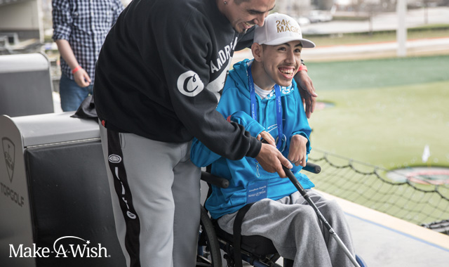 Make-A-Wish at Topgolf Webster