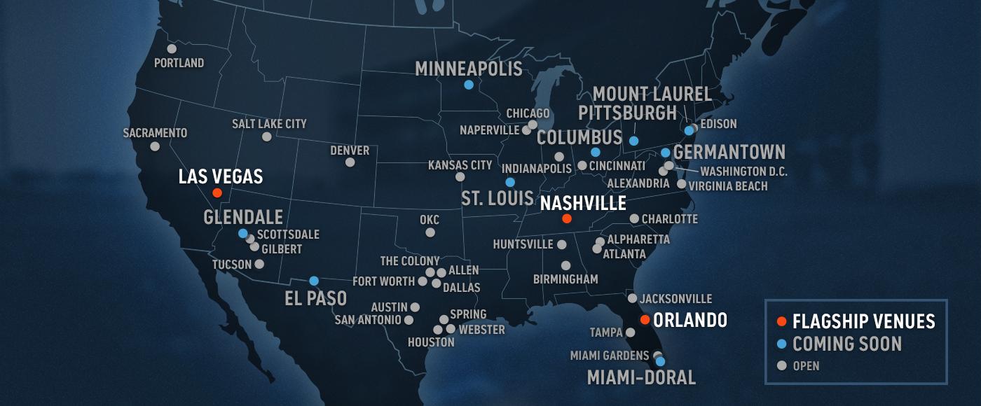Topgolf Venue Map